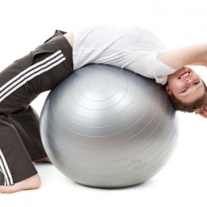 Stability Balls at Work